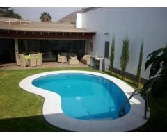 Playa Ingleses: casa con pileta para 6 personas
